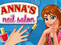 Le salon de manucure d'Anna